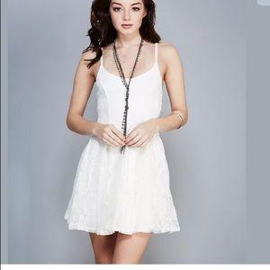Girly Lace A-Line Dress NWT